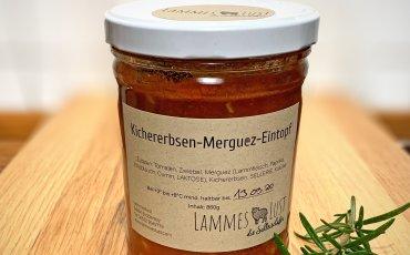 Kichererbsen-Merguez-Eintopf