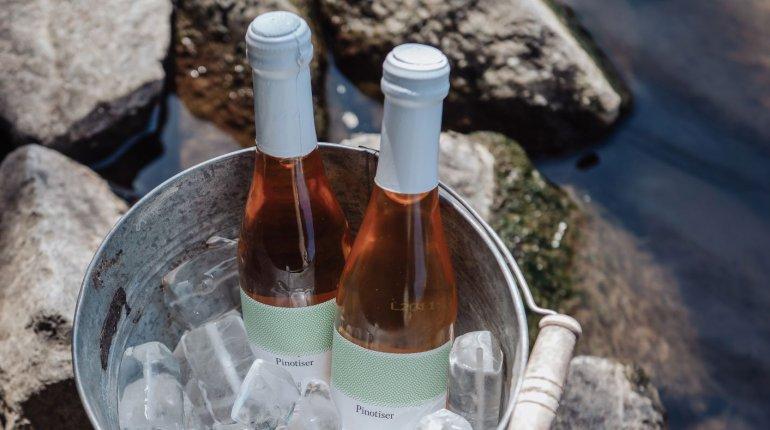 Alkoholfreie Getränke: Traubensaftschorle Pinotiser