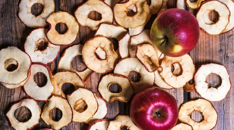 Süßwaren und Snacks: Original Zerbster Apfelchips
