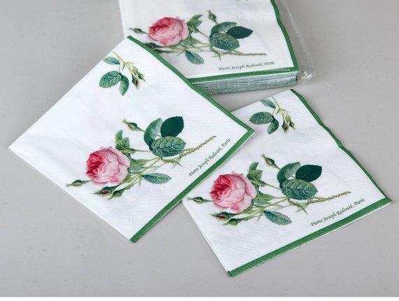 Servietten Redoute Roses