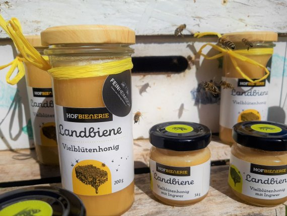 Hofbienerie Mini Honigschatz - Ingwer