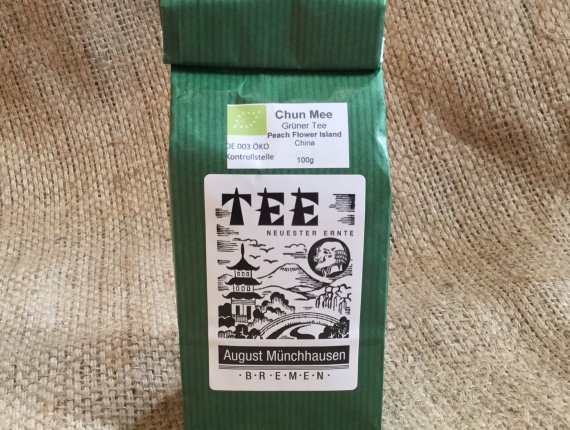BIO-Grüner Tee Chun Mee