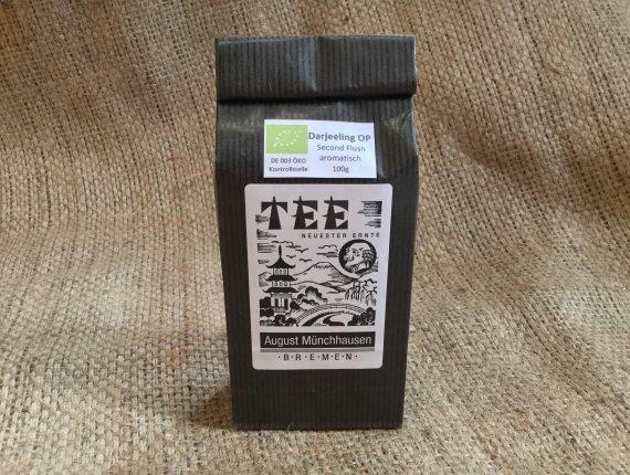 BIO-Schwarzer Tee Darjeeling