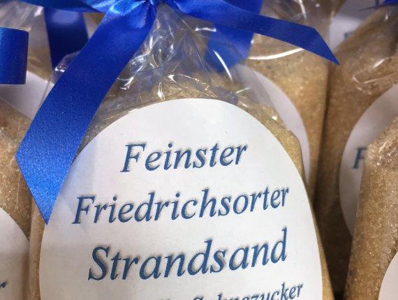 Feinster Friedrichsorter Strandsand