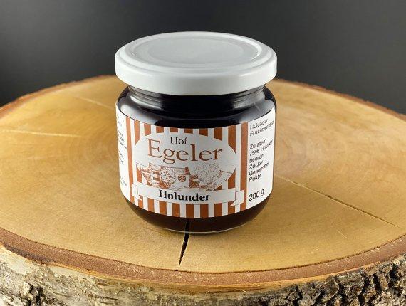 Holunder-Marmelade (zuckerreduziert)