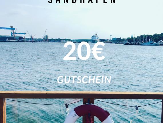 SANDHAFEN 20 € Gutschein