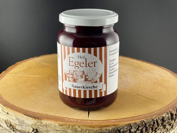 Sauerkirsch-Marmelade