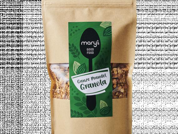 Ganze Mandel Granola