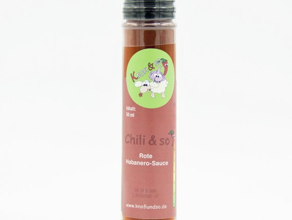 Rote Habanero-Sauce