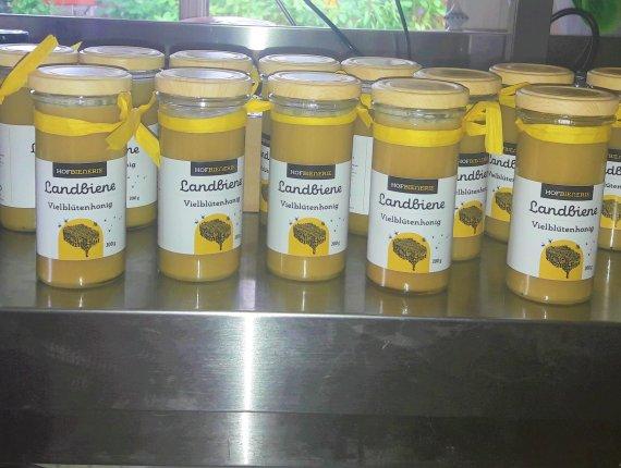 Landbiene Vielblütenhonig