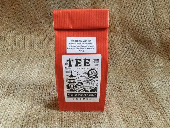 BIO-Rooibos Tee mit Bourbon Vanille