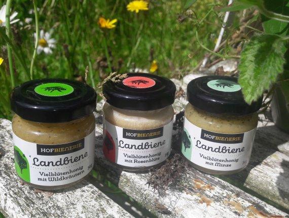Hofbienerie Mini Honigschatz - Pfefferminze