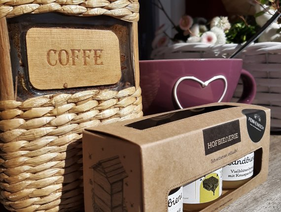 Hofbienerie Geschenkeset Coffee & Time