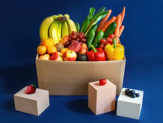 5,0 kg Mischbox - Obst & Gemüse