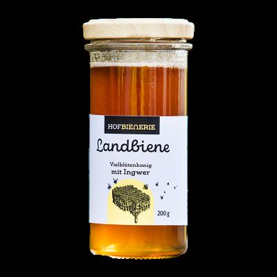 Landbiene Vielblütenhonig mit Ingwer