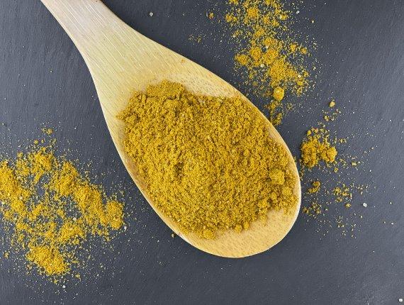 Curry Banane Gewürzzubereitung