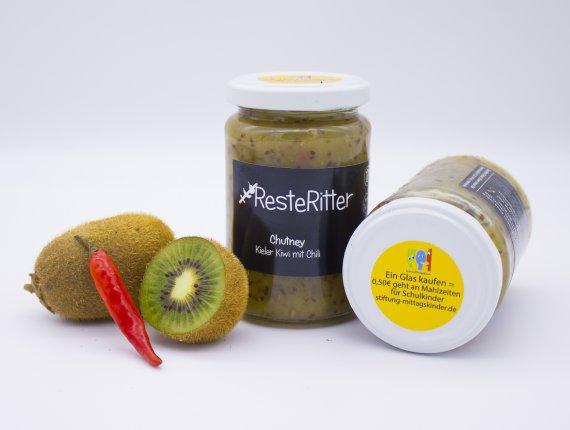 Chutney Kieler Kiwi mit Chili