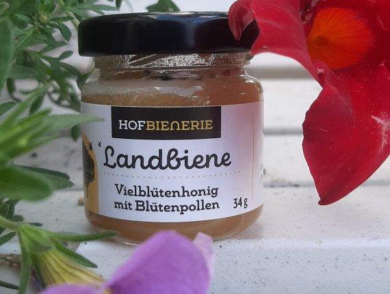 Hofbienerie  Mini Honigschatz mit Blütenpollen