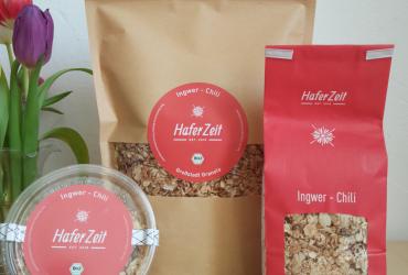 Ingwer-Chili Bio-Granola/Müsli