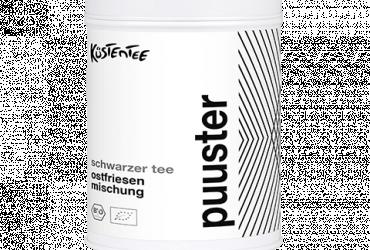 Puuster - Schwarztee Ostfriesen Mischung BIO