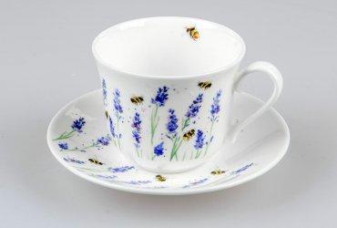 Jumbotasse Lavender & Bees