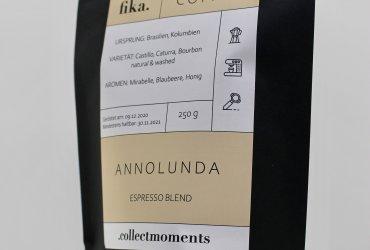 """Espresso """"Annorlunda""""- Blend mit fruchtigen Noten"""
