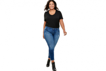"""Curvy-Ankle-Jeans """"Willy"""" Hose von ONLY CARMAKOMA"""