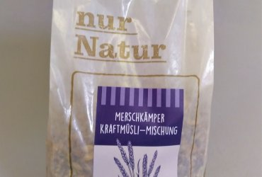 MERSCHKÄMPER Dinkel  Kraftmüsli-Mischung, 650 g