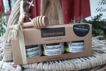 Hofbienerie Geschenkeset Herb & Honey