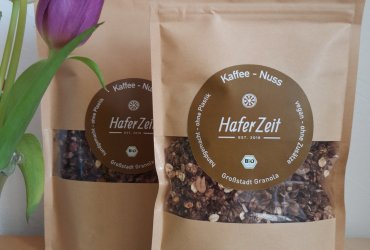 Kaffee-Nuss Bio-Granola/Müsli