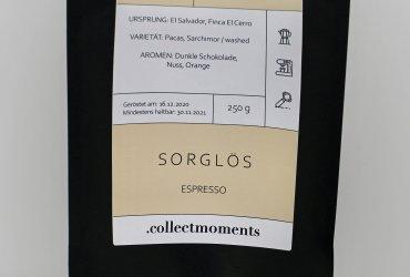 """Espresso """"Sorglös""""- Projektkaffee aus El Salvador"""