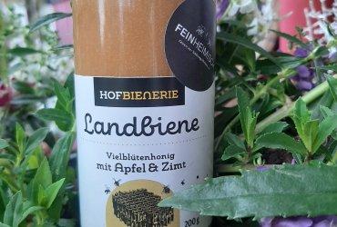 Landbiene Vielblütenhonig mit Apfel & Zimt