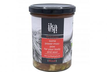 Traditionelle Bio-Kraftsuppe Rind, 24 Stunden von Hand gekocht