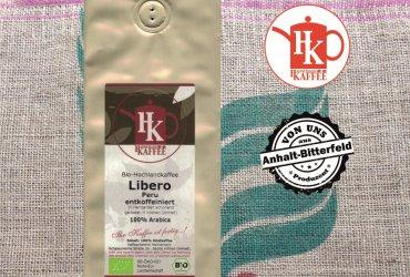 """Bio-Kaffee """"Libero"""" (entkoffeiniert)"""